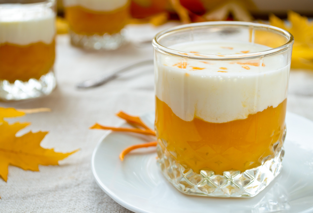 Pumpkin Pudding with Cinnamon Yogurt - Cook For Your Life- anti-cancer recipes