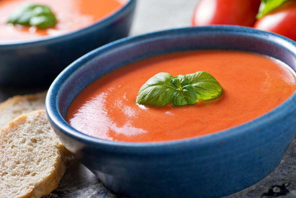 tomato soup - anti-cancer recipes - cook for your life