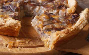 French Onion Tart - Cook For Your Life- anti-cancer recipes
