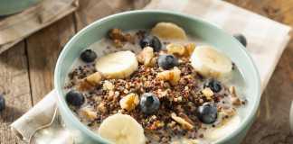 Quinoa Breakfast Porridge - Cook For Your Life- anti-cancer recipes