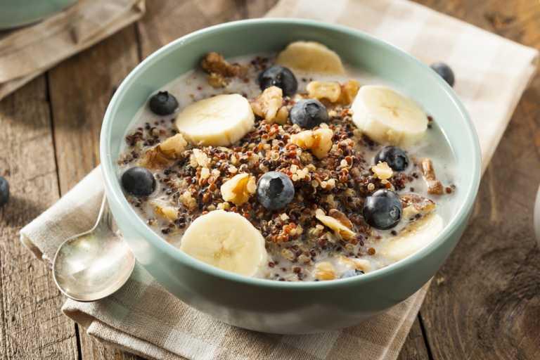 Quinoa Breakfast Porridge Recipe Image