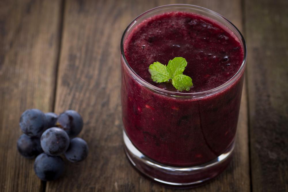 Grape Slushie- anti-cancer recipes- cook for your life
