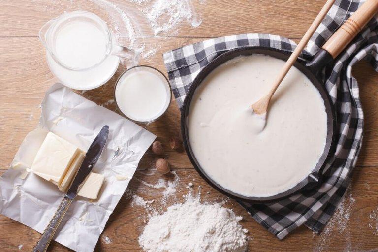 Basic Béchamel Sauce Recipe Image