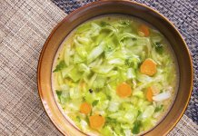 minestrone soup, sopa de minestrone - anti-cancer recipes, recetas anti-cancer - Cook For Your Life