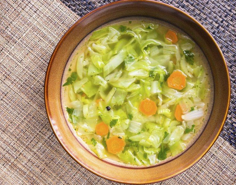 White Winter Minestrone Soup Recipe Image