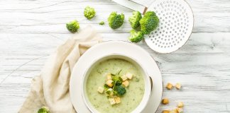 Broccoli & Almond Soup- easy to swallow-anti cancer recipes- cook for your life