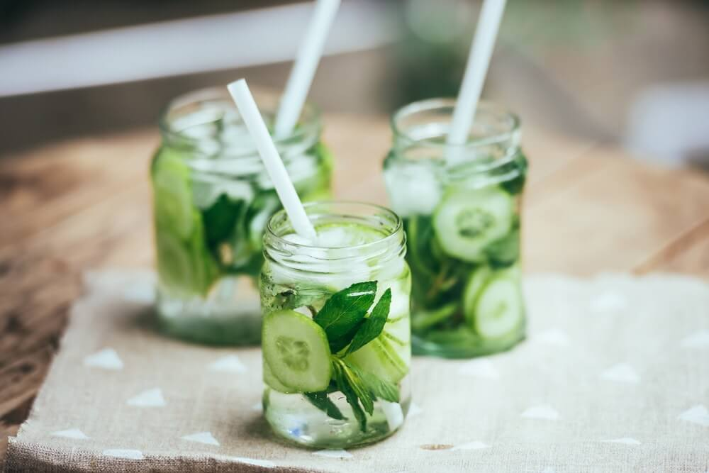 Cucumber and Minty water Image