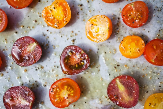 Roasted Cherry Tomatoes - Cook For Your Life- anti-cancer recipes
