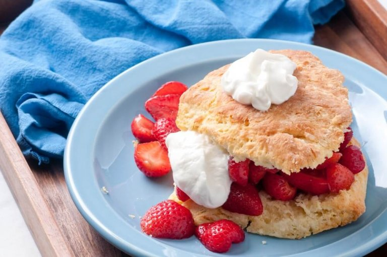 Strawberry Shortcake Recipe Image