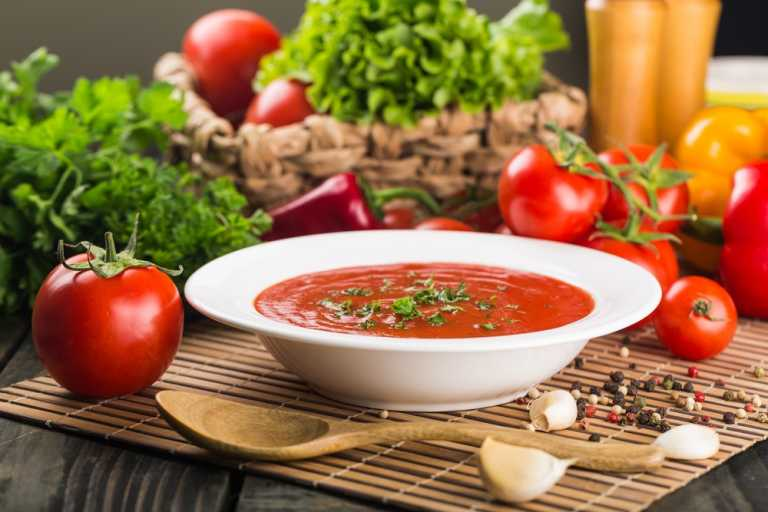 Provencal Tomato Soup Recipe Image