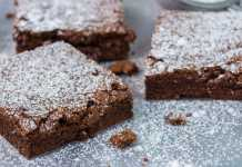 Dark Chocolate Brownies - Cook For Your Life- anti-cancer recipes