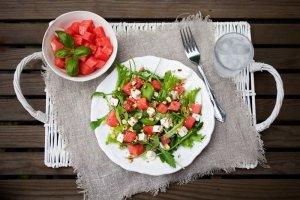 Ensalada de Sandía y Feta Recipe Image