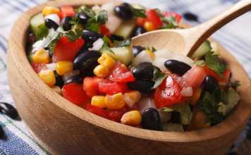 Mexican Black Bean Salad- anti-cancer recipes- cook for your life