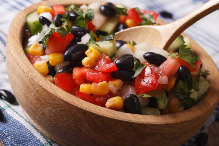 Mexican Black Bean Salad Recipe Image