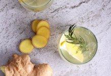 ginger, lemon juice, sugar- Ginger Lemonade- anti-cancer recipe- cook for your life