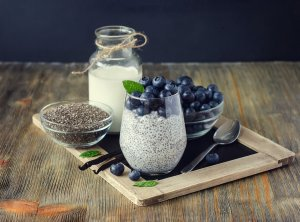 Vanilla Chia Pudding Recipe Image