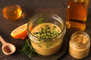 Basic Mustard Vinaigrette Recipe Image