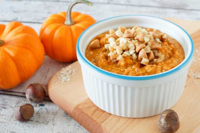 Pumpkin Oatmeal - Cook For Your Life-anti-cancer recipes