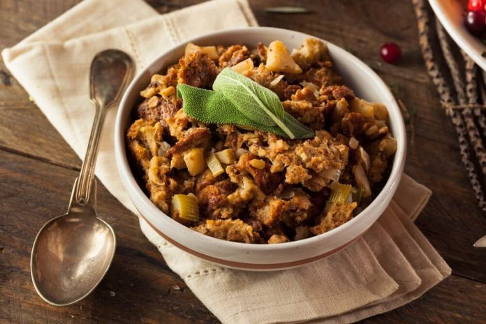 vegan pumpkin stuffing- cook for your life- anti-cancer recipes