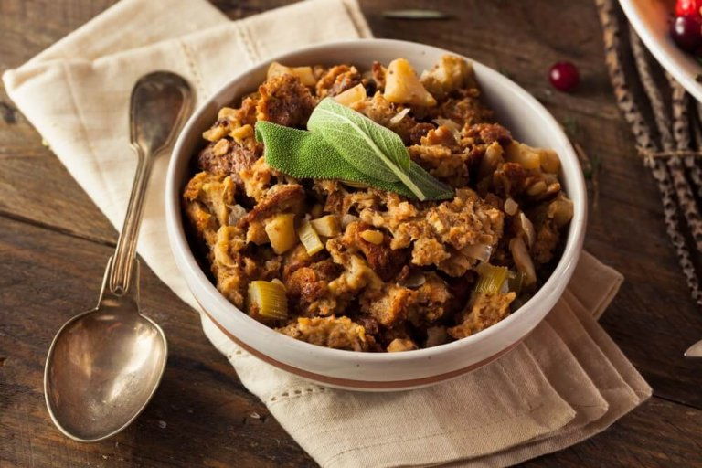 Vegan Pumpkin Stuffing Recipe Image