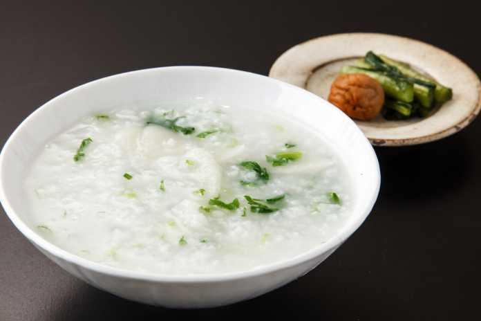 Japanese Rice Porridge - Cook For Your Life- anti-cancer recipe