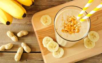 Peanut Butter Banana Oat Shake - Cook For Your Life-anti-cancer recipes