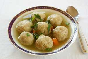 Matzo Ball Soup Recipe Image