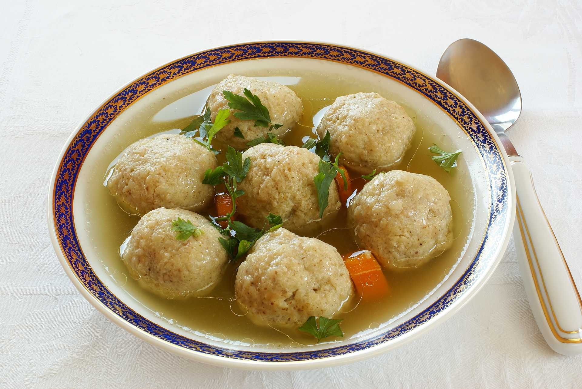 Matzo Ball Soup - Cook For Your Life - anti cancer recipes