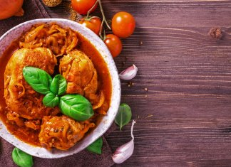 Chicken Stew with Rice and Tomatoes- cook for your life- anti-cancer recipes