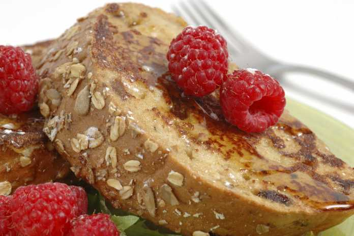 French Toast - Cook For Your Life- anti- cancer recipes