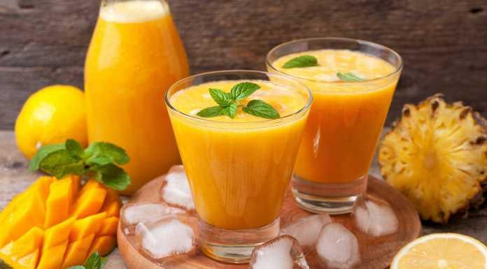Mango Lemonade - Cook For Your Life- anti-cancer recipes