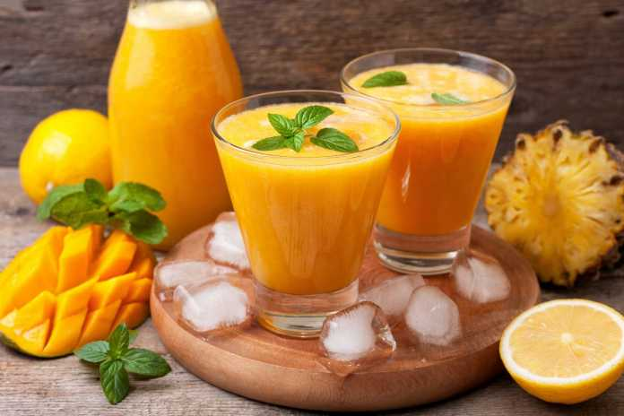 Mango Lemonade - Cook For Your Life- anti-cancer recipes