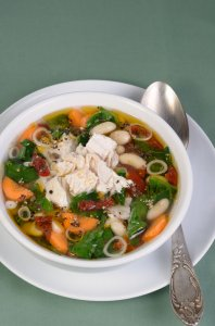 Chicken Stew With Kale & Broccoli Recipe Image