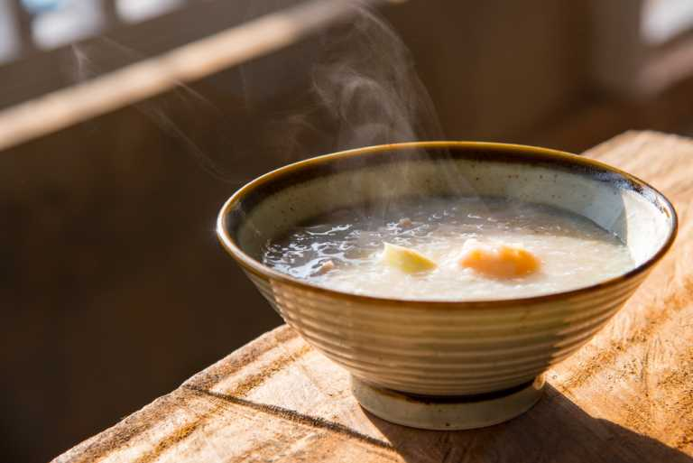 Chicken & Rice Congee Recipe Image