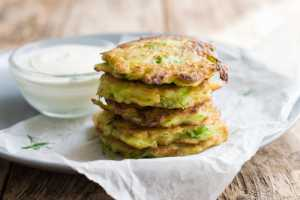 Zucchini Fritters Recipe Image