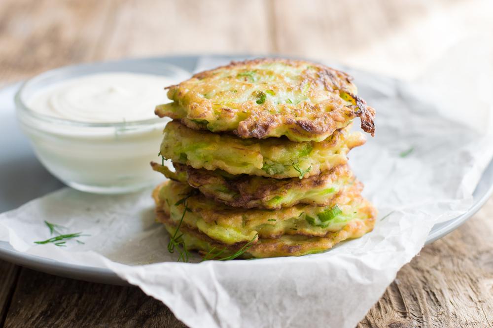 Zucchini & Corn Fritters Image
