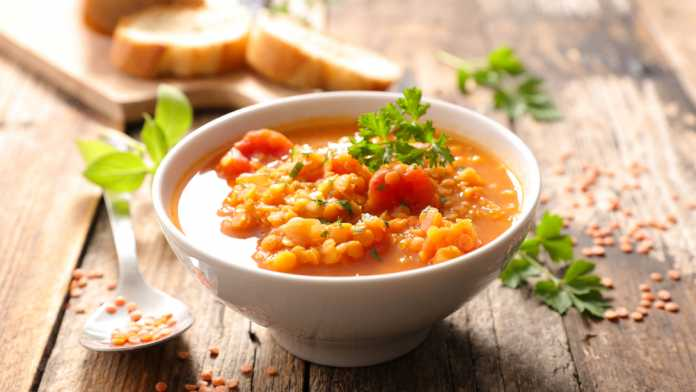 Moroccan Spiced Lentil Soup- cook for your life- anti-cancer recipes