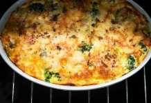 Spanish-Style Frittata- cook for your life- anti-cancer recipes