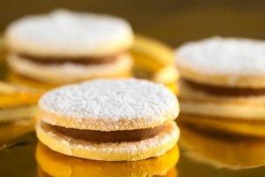 Dulce de Leche Cookies Recipe Image