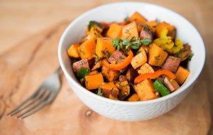 Sweet Potato Hash Recipe Image