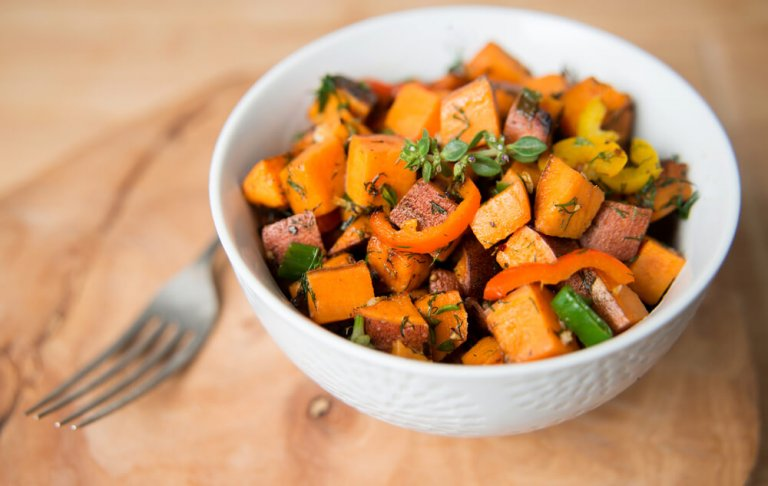 Sweet Potato Hash Recipe Image