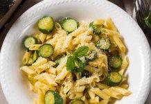 zucchini pasta alla nerano - cook for your life- anti-cancer recipes