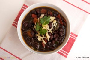 Black Bean Chili Recipe Image