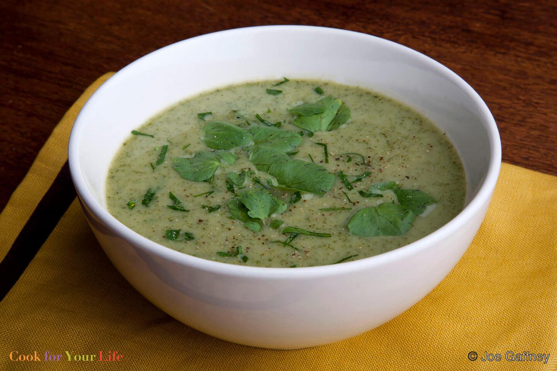 Cream of Watercress Soup Image