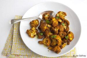 Spiced Oven Roasted Cauliflower Recipe Image