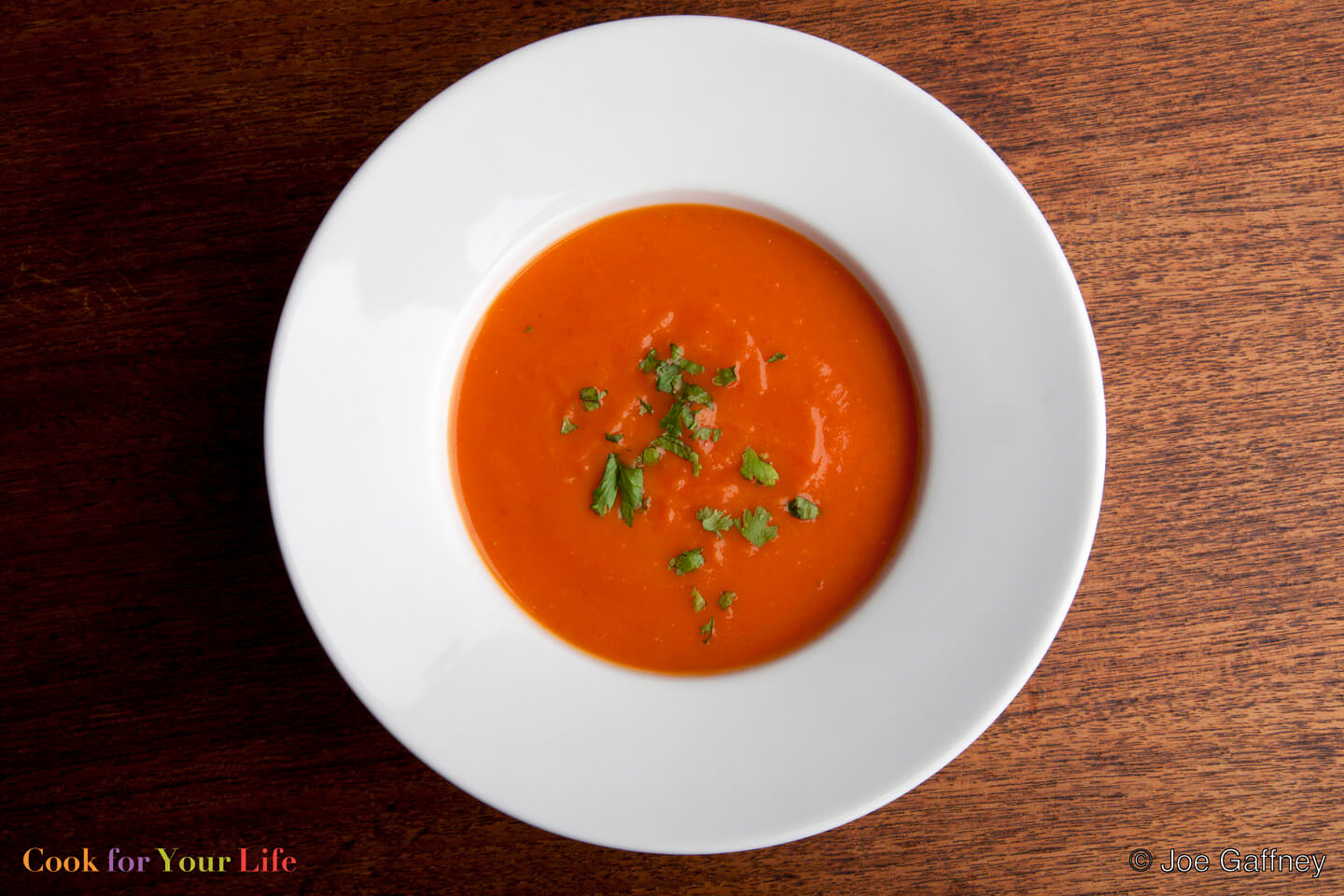 Tomato & Sweet Potato Soup Image