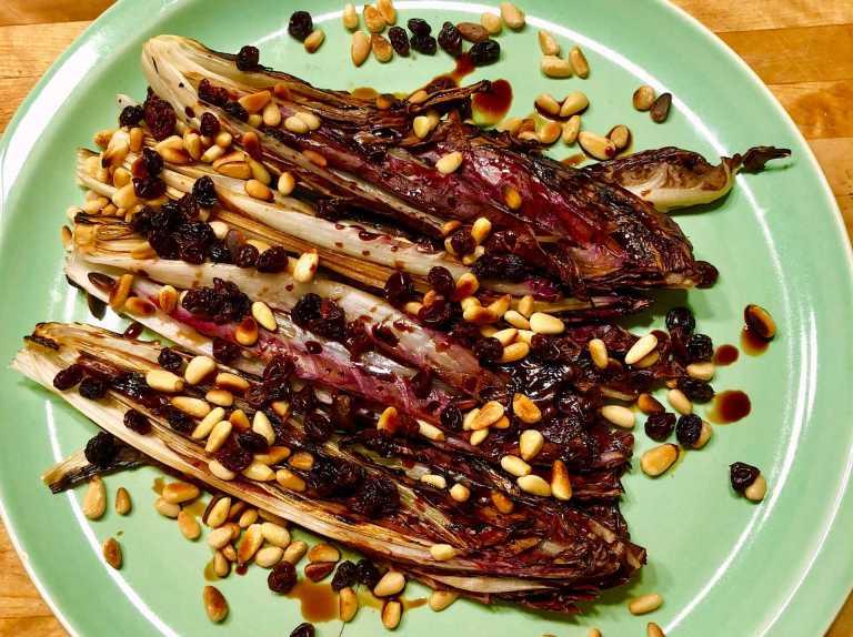 Ann's Grilled Endive Salad Recipe Image