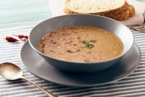Sopa de Farro y Frijoles Blancos Recipe Image