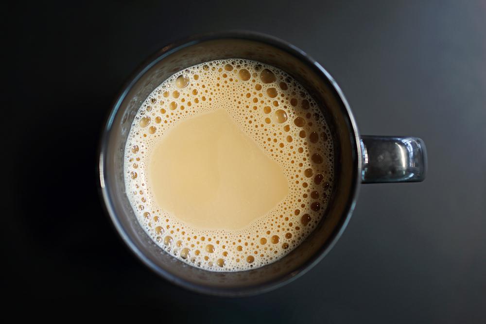 Banana Almond Coconut Tea