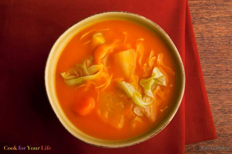 Sopa de Calabaza Haitiana Recipe Image